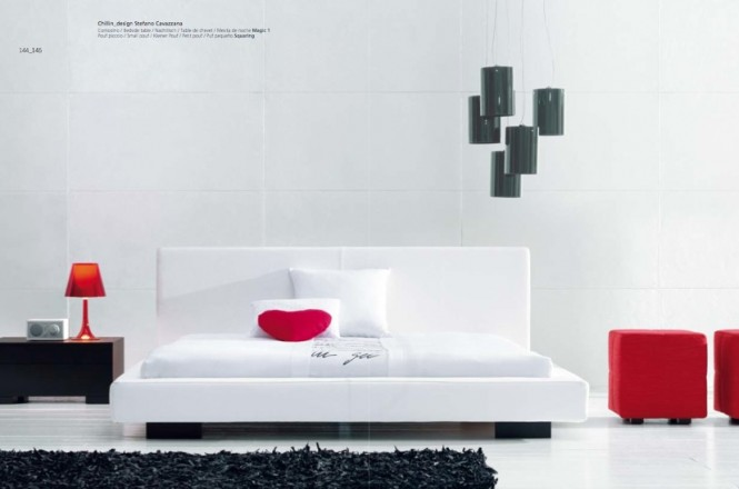 luxury-white-red-black-bedroom-665×440