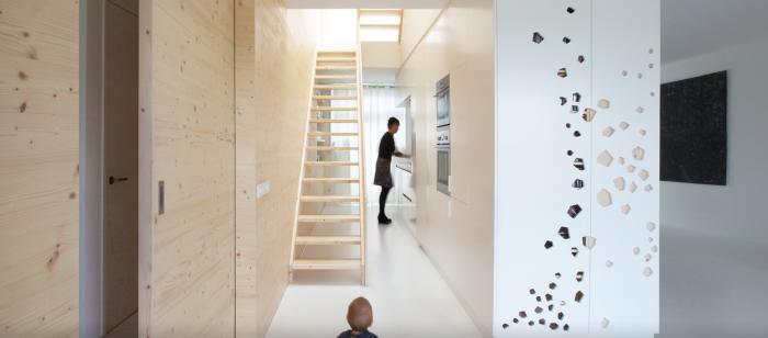 Appartement design par i29 entree arkko for Entree appartement design