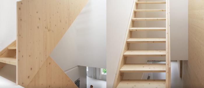Appartement design par i29 escaliers