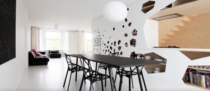 Appartement design salle a manger