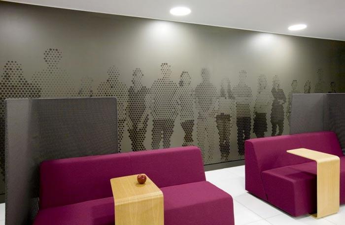 Bureau design Astral de Montreal-salle attente