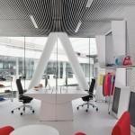 Bureaux design Adidas par Kinzo