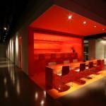 Bureaux design de Bilgili-Salle rouge