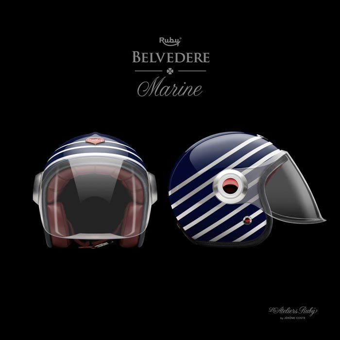 Casque Les Ateliers Ruby Hiver 2011 Belvedere Marine