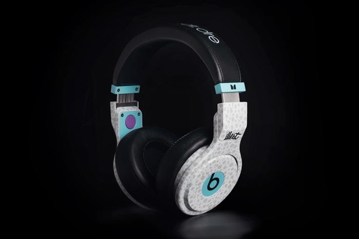 Casque audio design Illest Beats Pro par Dr Dre