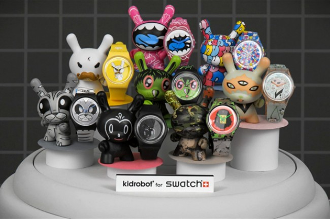 Collection Kidrobot for Swatch