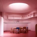 Creche design salle de repas