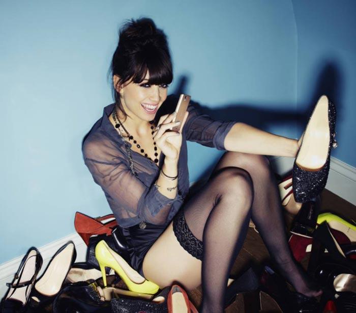 Daisy Lowe pour Sony Ericsson
