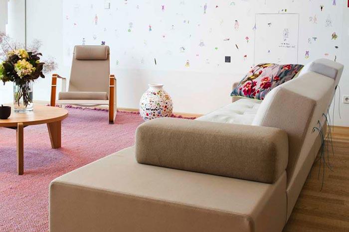 Decoration salon Vitra