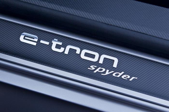 Detail Audi E-Tron Spyder