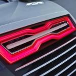 Detail feu arriere Audi E-Tron Spyder