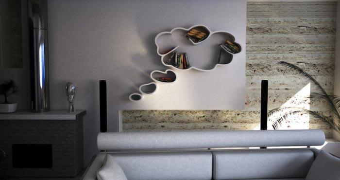 Etagere design Dream blanche