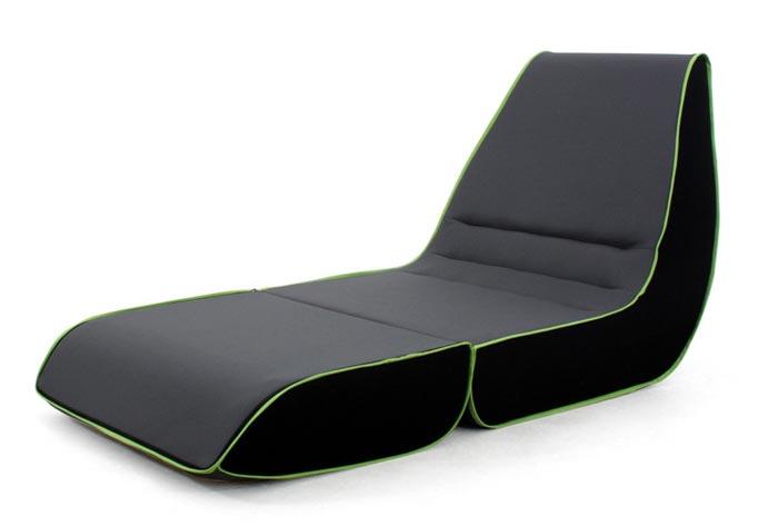 Fauteuil design Playtime Dunlopillo