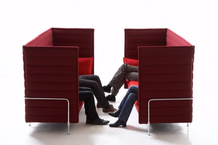 Highback Alcove Sofa pour Vitra par Bouroullec