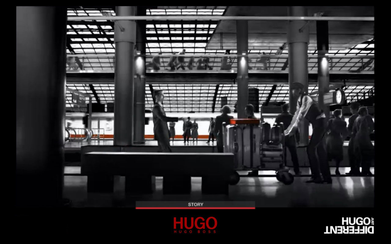 Boutique Hugo Boss au Printemps
