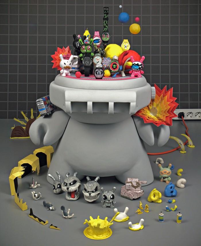 Kidrobot for Swatch