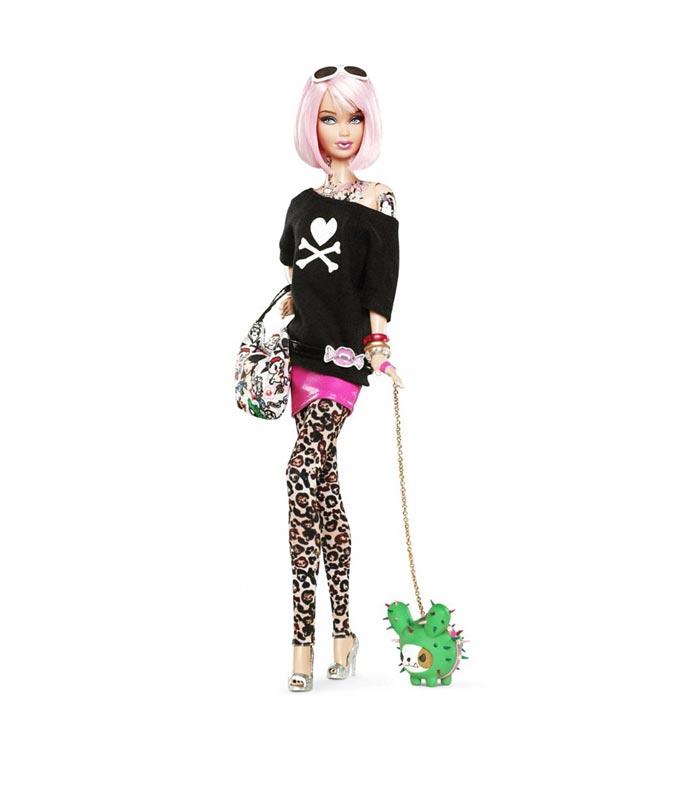La premiere Barbie tatouee par TokiDoki