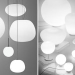 Luminaire design Mochi Mycena White Baka Poga Sfera
