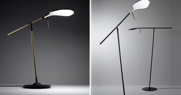 Luminaire design Paddle par Benjamin Hubert
