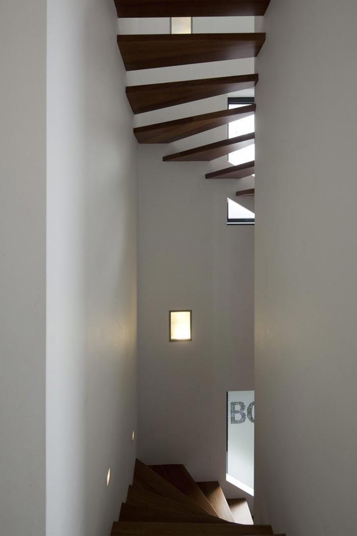 Maison design en Hollande escaliers