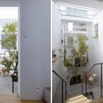 Maison design escalier bois
