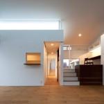 Maison design japonaise- demi niveaux