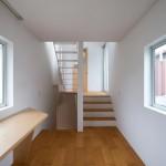 Maison design japonaise-escaliers