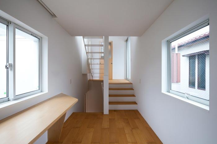 Maison design japonaise escaliers arkko - Maison twin megaphones par latelier tekuto ...