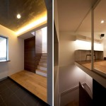 Maison design japonaise-hall