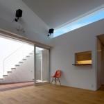 Maison design japonaise-ouverture sur terrasse