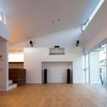 Maison design japonaise-piece a vivre