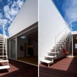 Maison design japonaise-terrasse