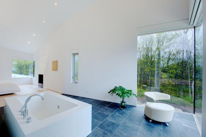 Maison design pres de New York salle de bain