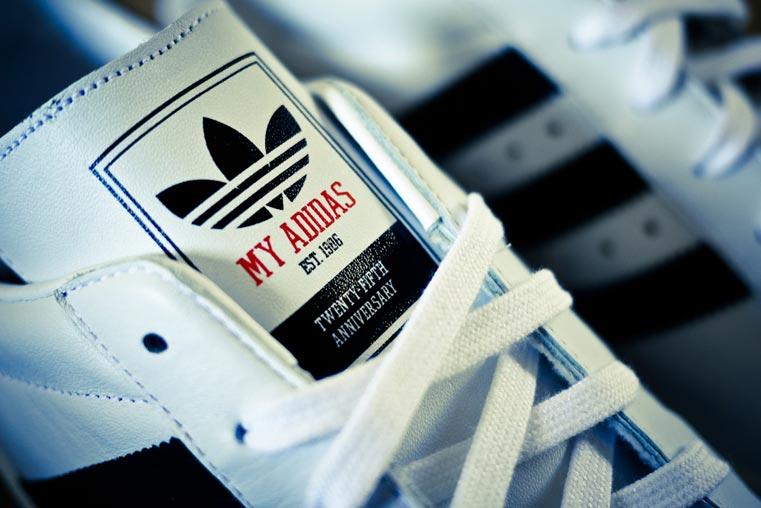 My Adidas RUN-DMC Superstar