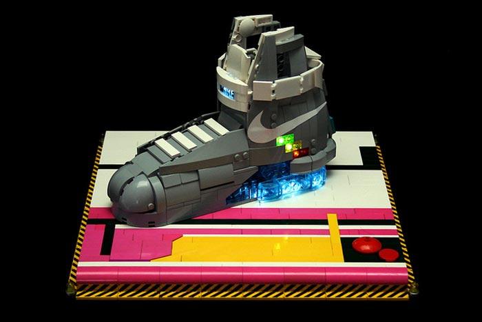 Nike Mag en Lego