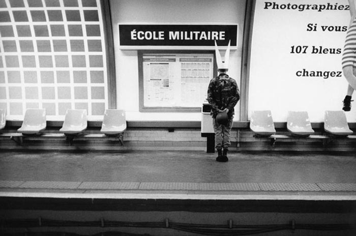 Photos station de metro Ecole Militaire