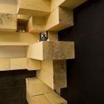 Restaurant design en bois Ator