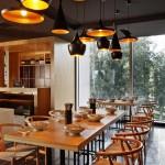 Restaurant design luminaire