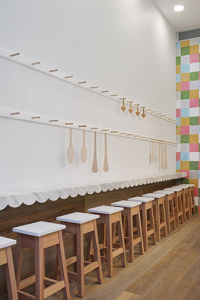 Salle de Restaurant design de Cupcakes