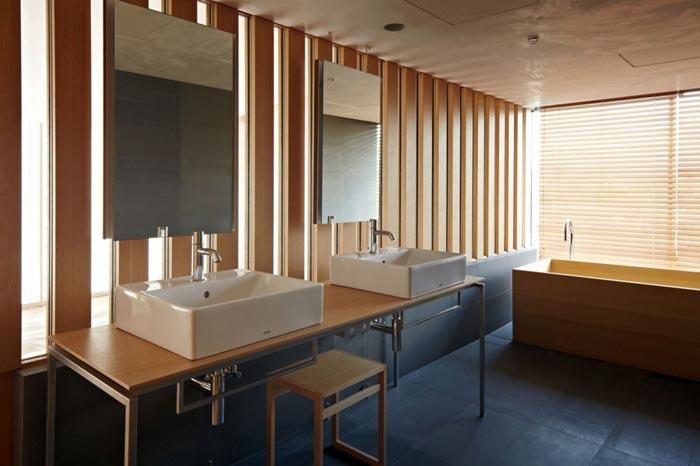 Salle d'eau Hotel Kyoto Kokusai