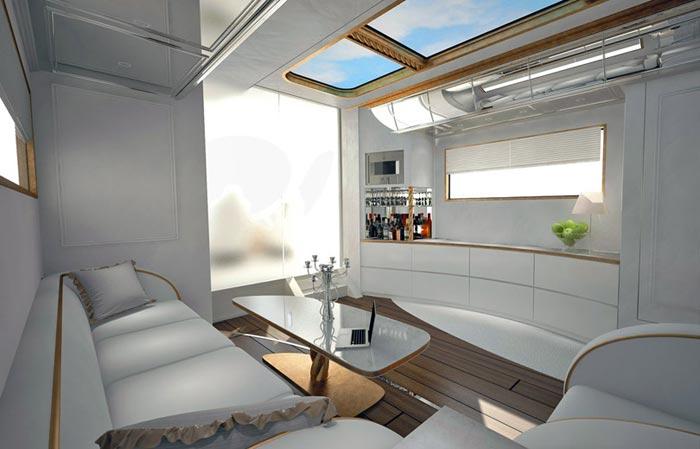 Salon Camping Car de luxe