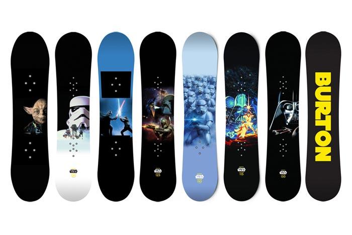 Snowboards Star Wars x Burton
