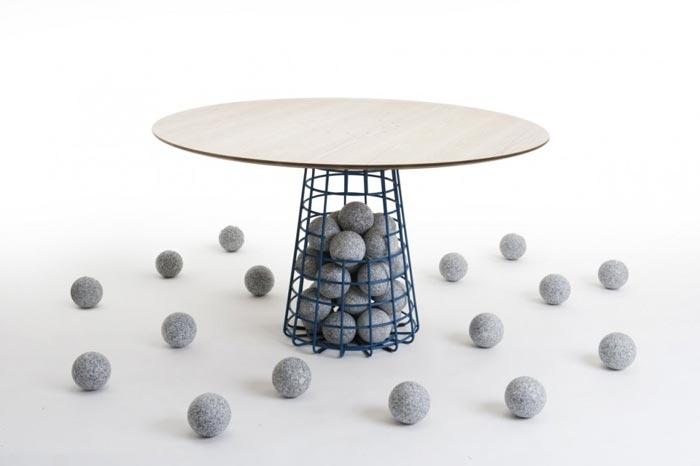 Table design par Benjamin Hubert