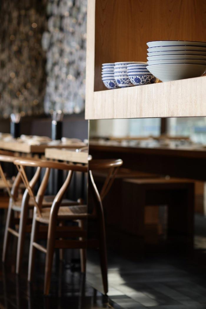 Taiwan Noodle house par Golucci International Design