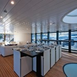 Yacht design salle a manger
