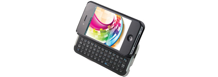 Clavier Bluetooth pour iPhone 4 et iPhone 4S