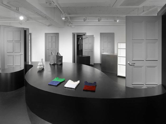 Amenagement de Boutique design par Nendo