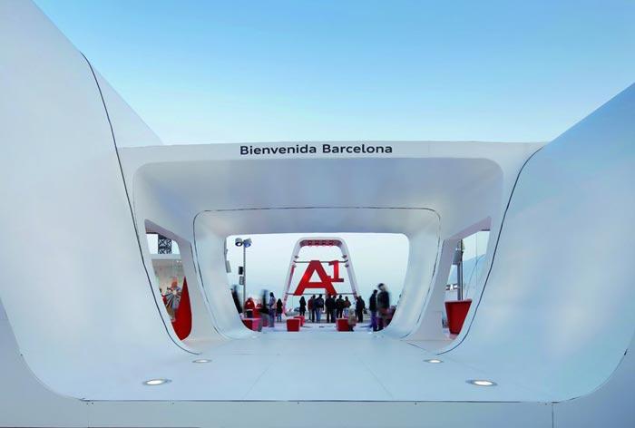 Audi AreA1 Barcelona
