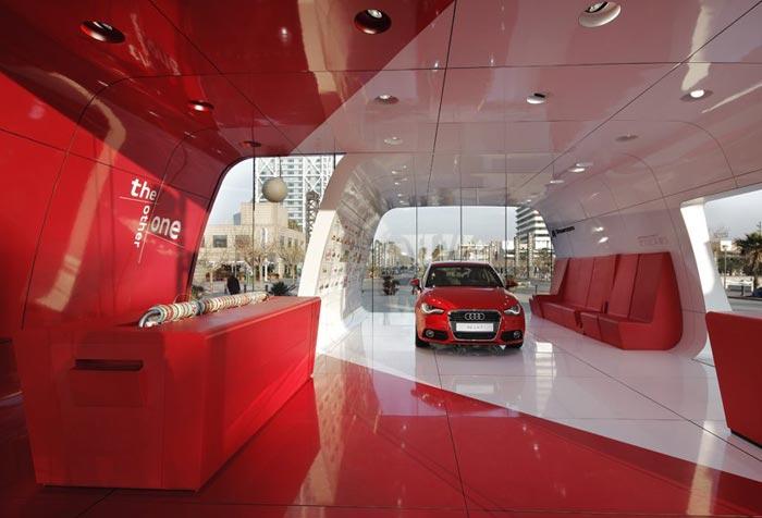 Audi AreA1 par Schmidhuber + Partner