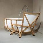 Baignoire design par Thomas Linssen